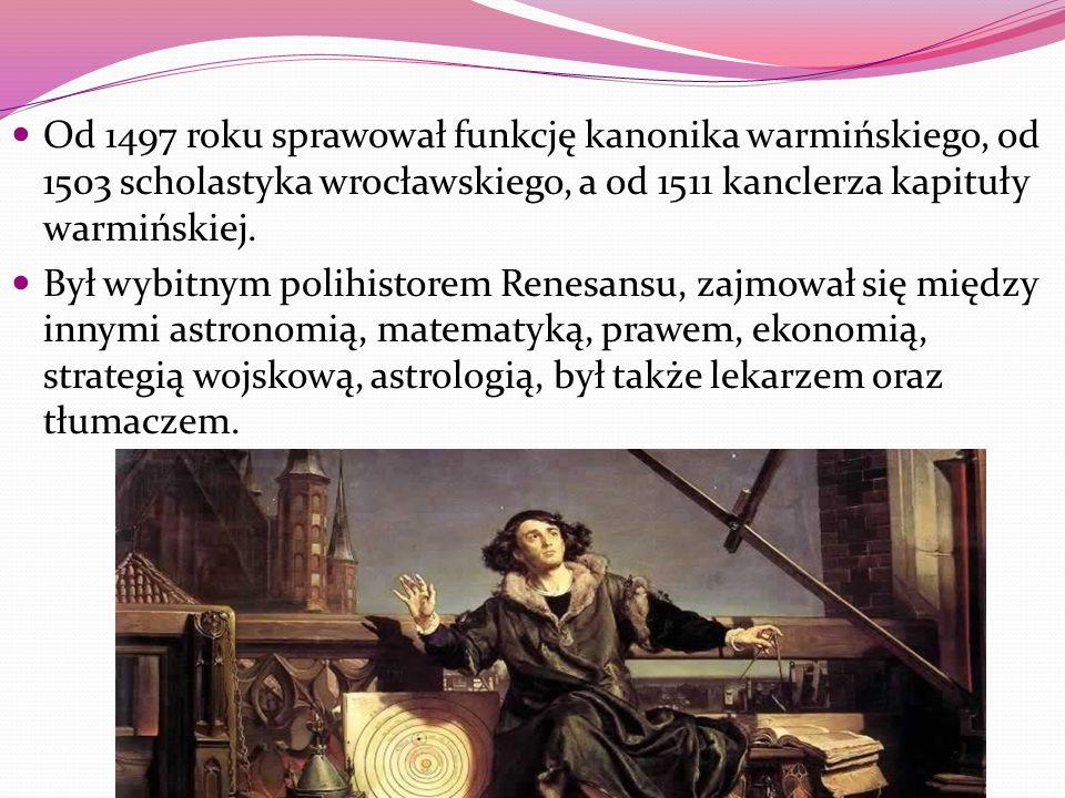 Przekład dzieła Teofilakta Symokatty na okładce: herby Polski, Litwy, Krakowa Epitafium Kopernika w katedrze fromborskiej Zamek w Olsztynie