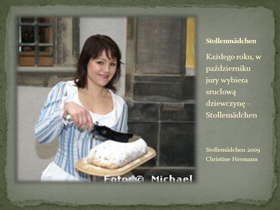 Każdego roku, w październiku jury wybiera sruclową dziewczynę – Stollemädchen Stollemädchen 2009 Christine Hermann