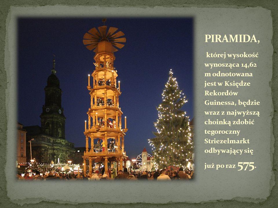 Tegoroczny Striezelmarkt odbywać się będzie w dniach od 26.11.2009 do 24.12.2009.