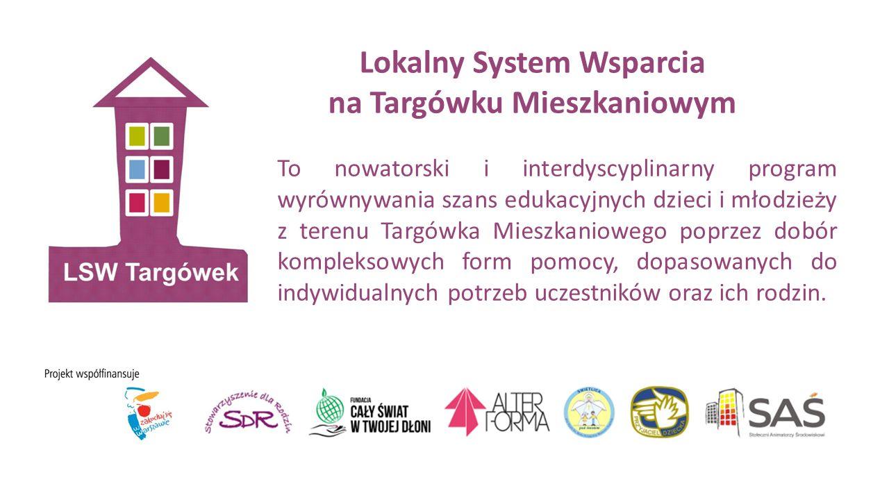 Partnerzy Projektu O ś rodek Pomocy Społecznej Dzielnicy Targówek Punkt Informacyjno - Konsultacyjny ds.