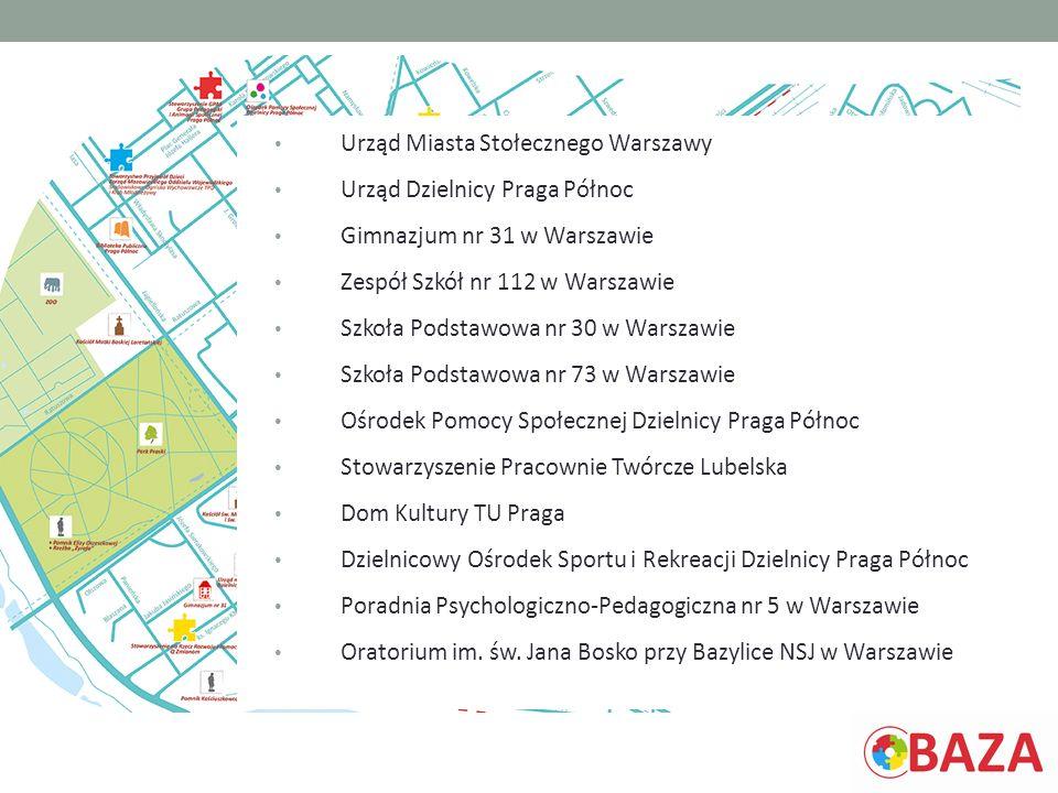 Urząd Miasta Stołecznego Warszawy Urząd Dzielnicy Praga Północ Gimnazjum nr 31 w Warszawie Zespół Szkół nr 112 w Warszawie Szkoła Podstawowa nr 30 w W