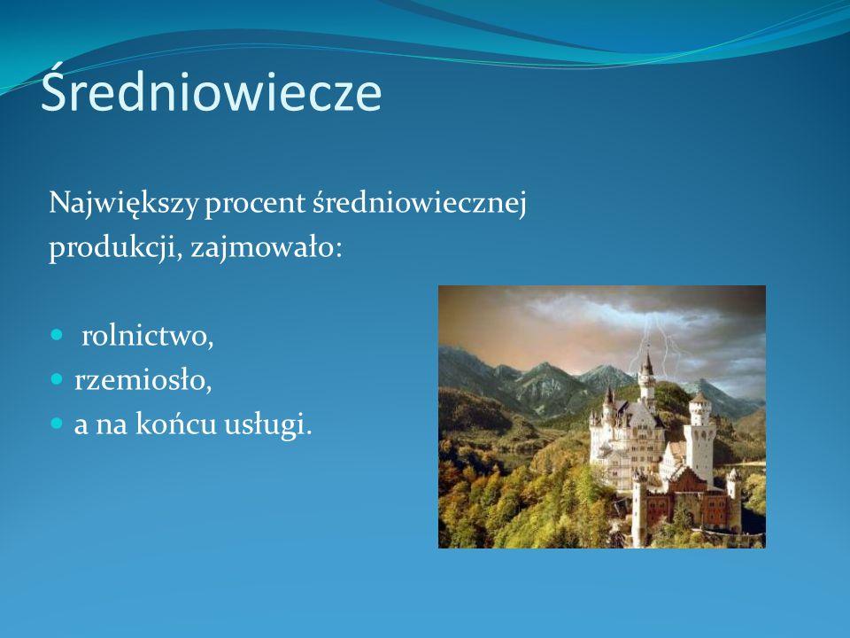 Produkcja w Średniowieczu