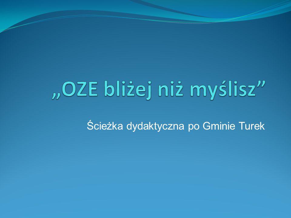 Ścieżka dydaktyczna po Gminie Turek