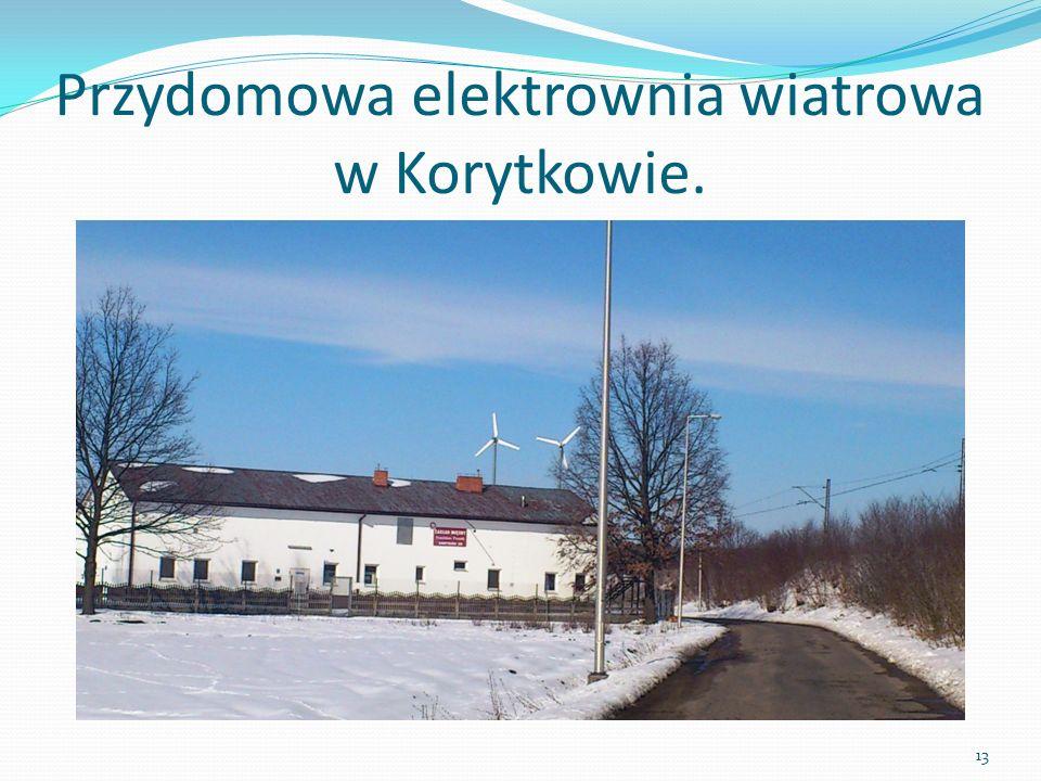 Przydomowa elektrownia wiatrowa w Korytkowie. 13