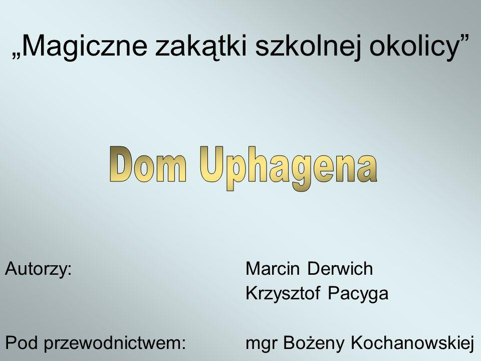 ISpis treści IIWstęp IIIHistoria rodziny Uphagenów IVDom Uhagena VŹródła