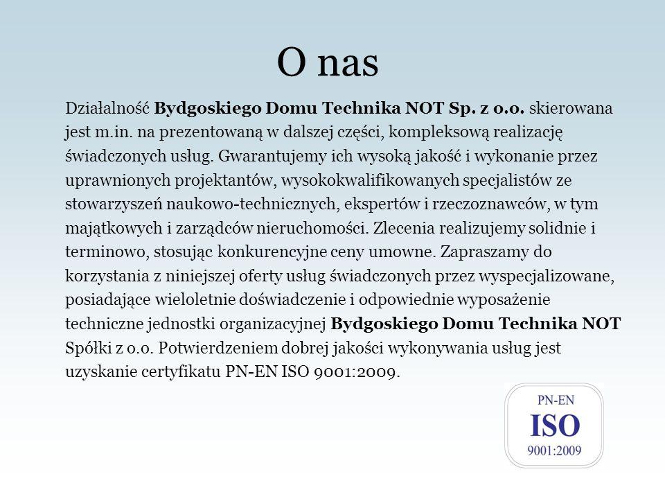 BYDGOSKI DOM TECHNIKA NOT Spółka z o.o.