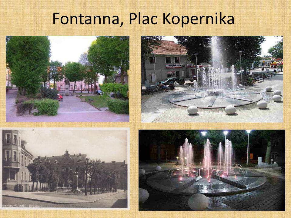 Fontanna, Plac Kopernika