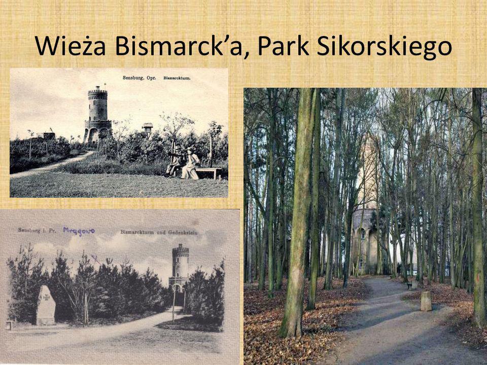 Wieża Bismarcka, Park Sikorskiego