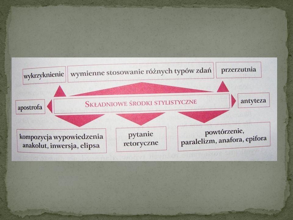Przerzutnia – przeniesienie części zdania z jednego wersu do następnego, w celu uwydatnienia słowa lub grupy słów; urozmaica tok rytmiczny wiersza, np