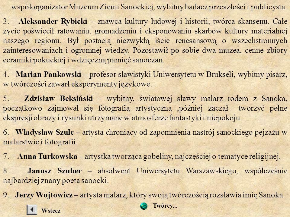 Krakowie, czyniąc zastrzeżenie, by przy rozdziale mieszkań uwzględniano w pierwszej kolejności studentów z Sanoka. 2. Mikołaj Wechter – pochodzący z R