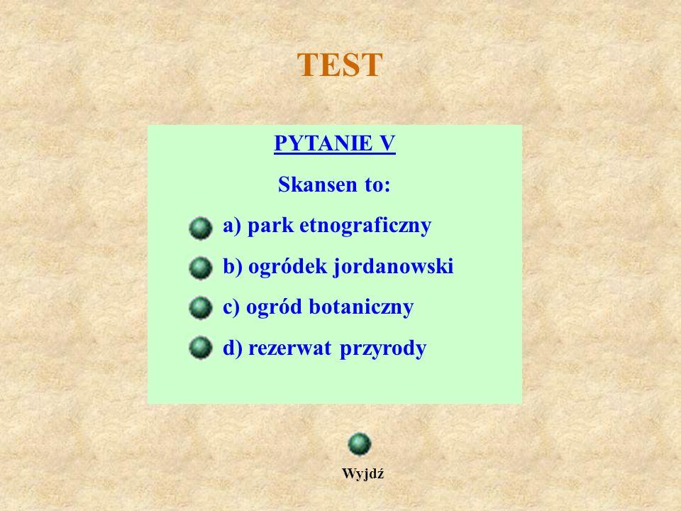 TEST PYTANIE IV W Sanoku znajduje się kościół i klasztor Ojców: a) Paulinów b) Dominikanów c) Karmelitów d) Franciszkanów Wyjdź