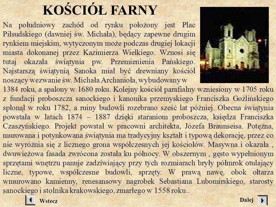 pogrzebanie kości w 1758 roku. Z przedsionka, przez odnowiony i unowocześniony korytarz klasztorny przejść można na wewnętrzny, obszerny podwórzec ogr