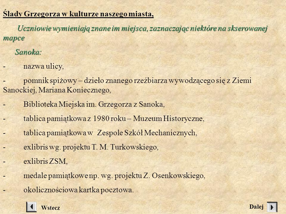 ( książka udostępniona przez nauczyciela ). Odpowiadają według planu: - Dzieciństwo – młodość – nauka. - U kasztelana Tarnowskiego. Probostwo w Wielic
