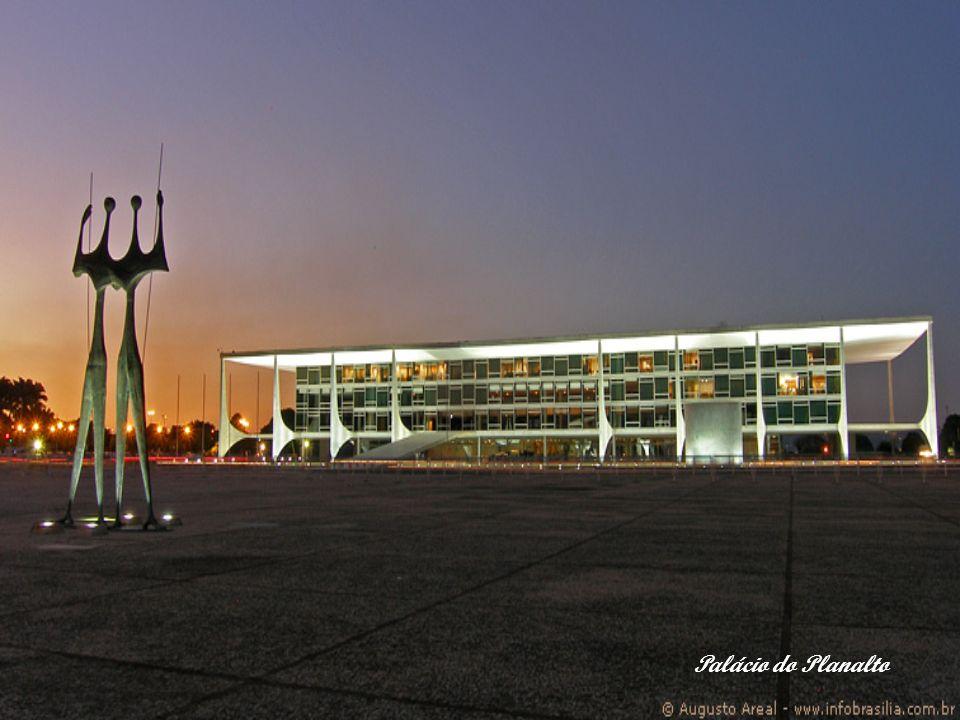 Palácio do Planalto jest oficjalnym miejscem pracy Prezydenta Brazylii