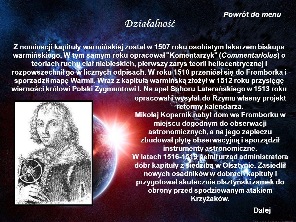 Działalność Z nominacji kapituły warmińskiej został w 1507 roku osobistym lekarzem biskupa warmińskiego. W tym samym roku opracował