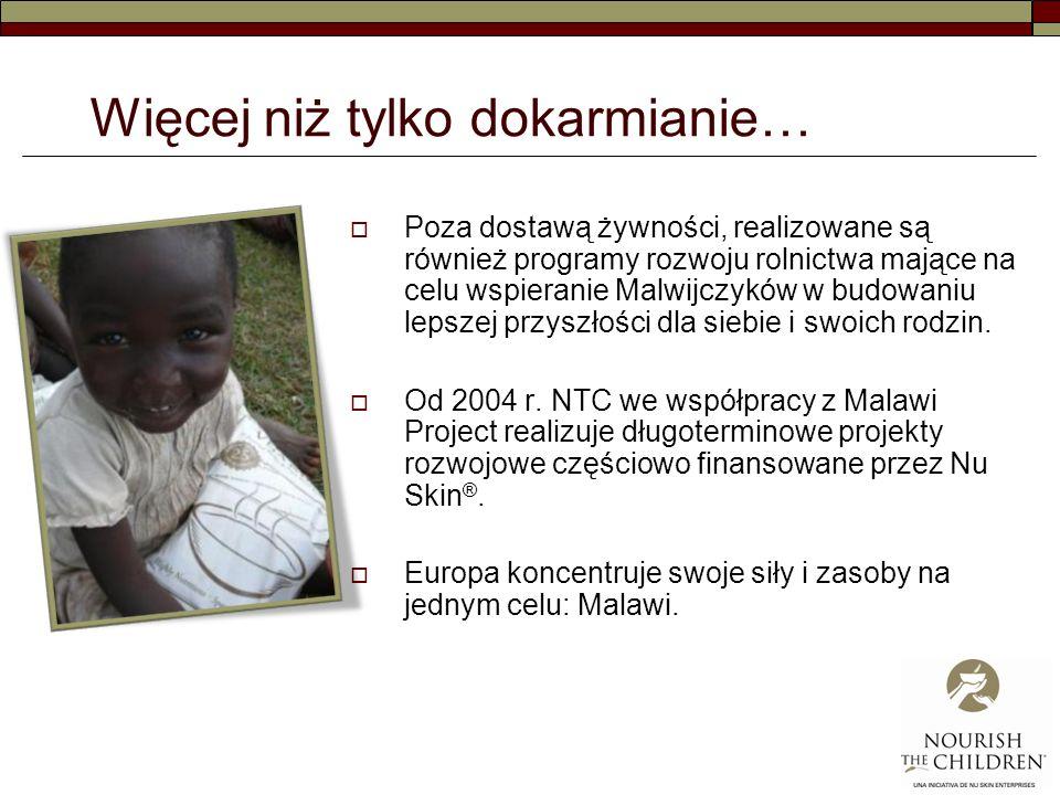 Więcej niż tylko dokarmianie… Poza dostawą żywności, realizowane są również programy rozwoju rolnictwa mające na celu wspieranie Malwijczyków w budowaniu lepszej przyszłości dla siebie i swoich rodzin.