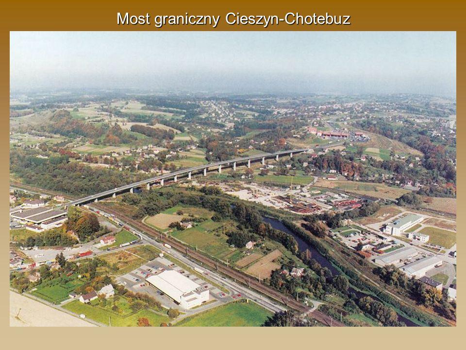 Most graniczny Cieszyn-Chotebuz