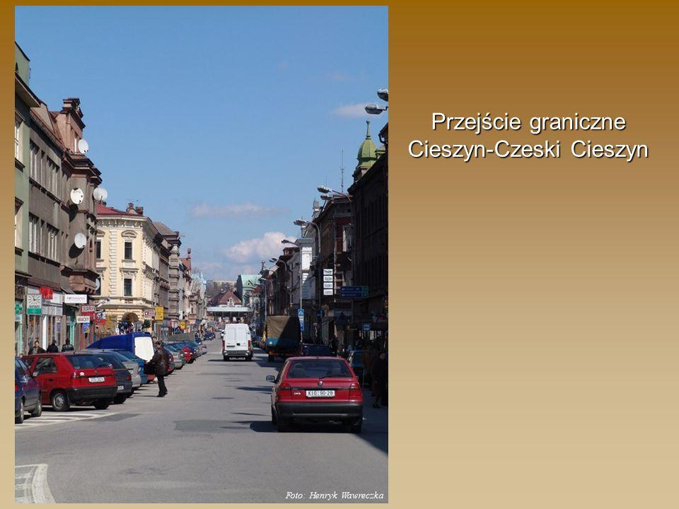 Przejście graniczne Cieszyn-Czeski Cieszyn