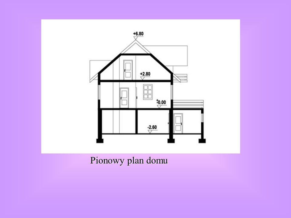 Pionowy plan domu