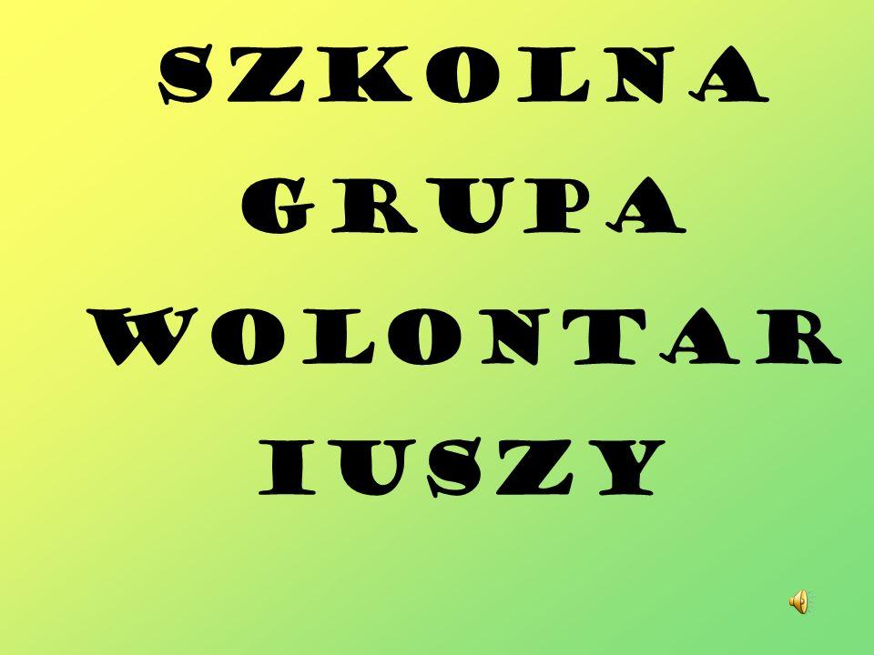 Szkolna Grupa Wolontar iuszy