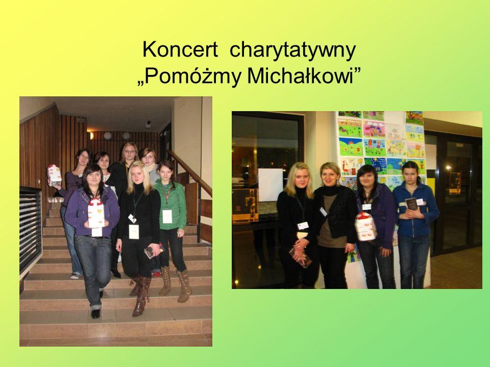 Koncert charytatywny Pomóżmy Michałkowi