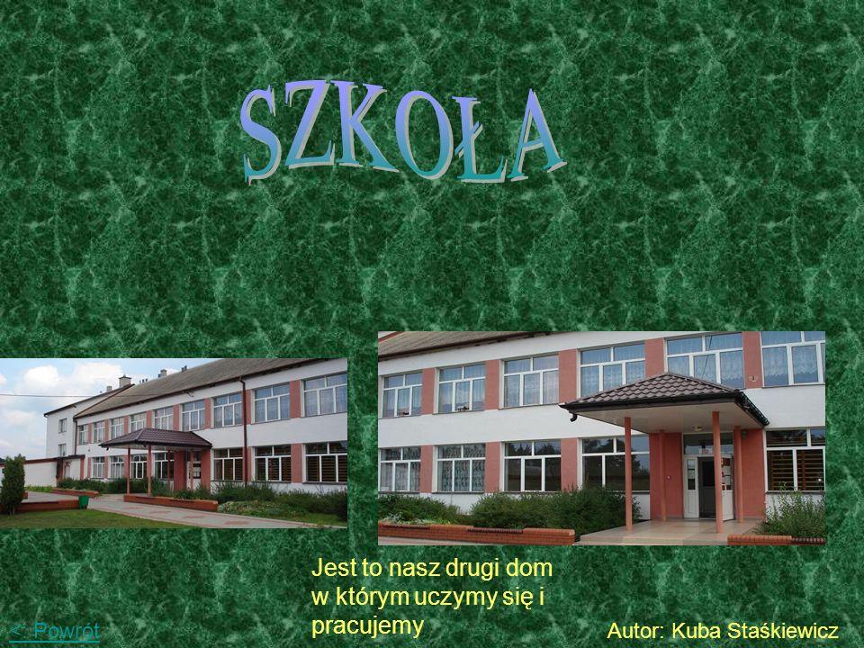Te zdjęcia przedstawiają sklepik szkolny Autor: Kuba Staśkiewicz