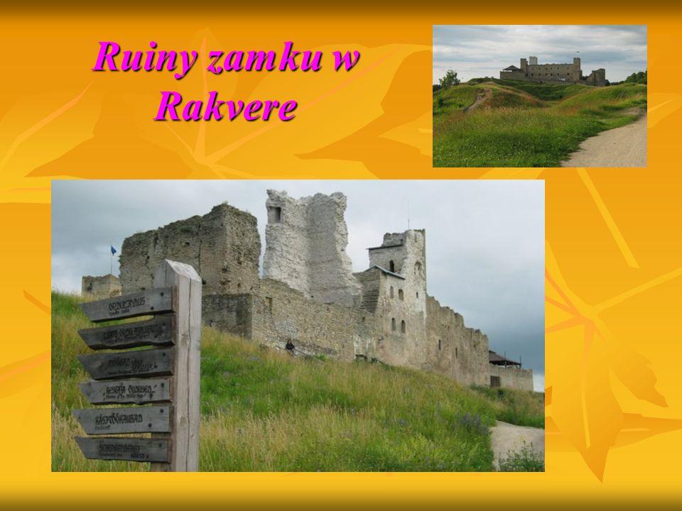 Ruiny zamku w Rakvere