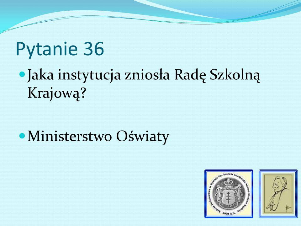 Pytanie 35 Kiedy w domu kierownika szkoły wybuchła epidemia szkarlatyny 1920 r.