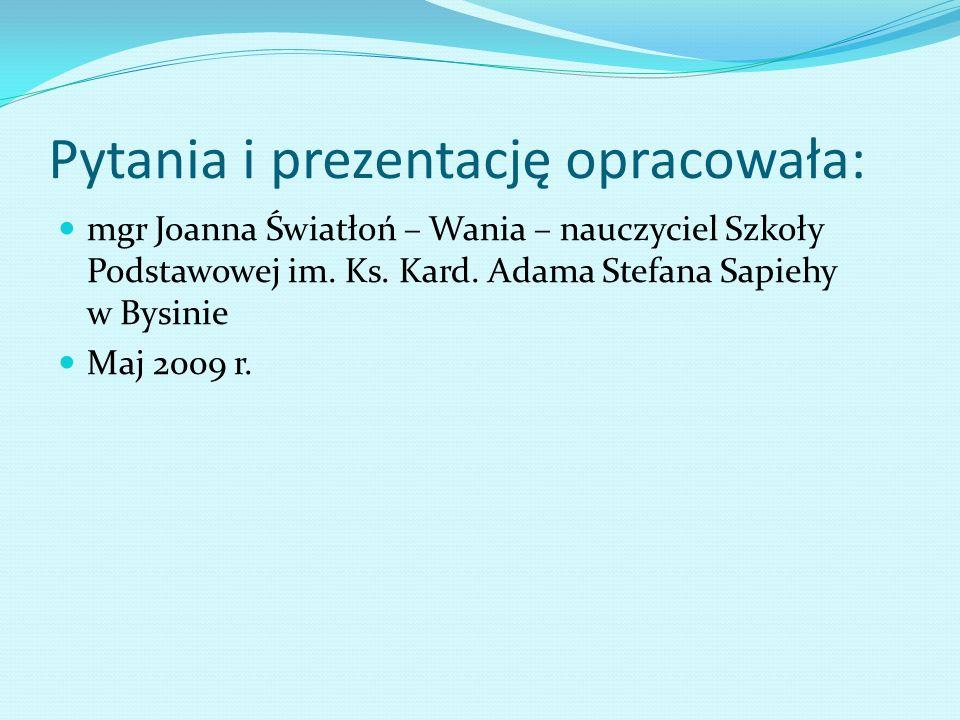 Pytanie 50 Kto dziewczętom IV i V oddziału udzielał nauki robót ręcznych kobiecych Julia Zającowa