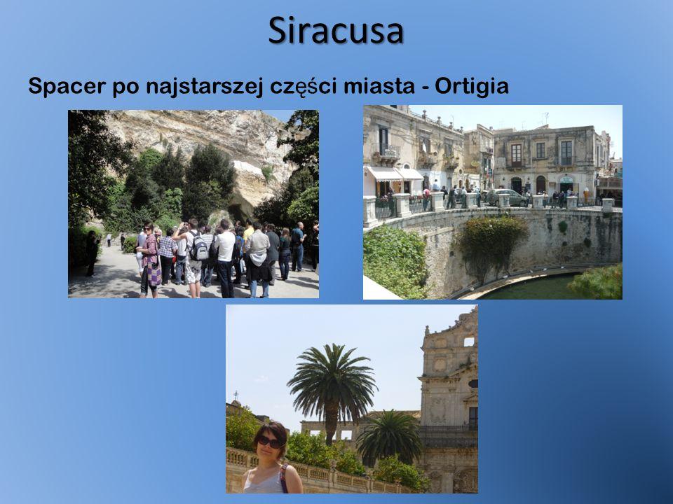 Siracusa Spacer po najstarszej cz ęś ci miasta - Ortigia