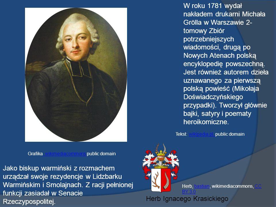 W roku 1781 wydał nakładem drukarni Michała Grölla w Warszawie 2- tomowy Zbiór potrzebniejszych wiadomości, drugą po Nowych Atenach polską encyklopedię powszechną.