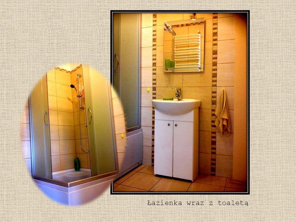 Łazienka wraz z toaletą