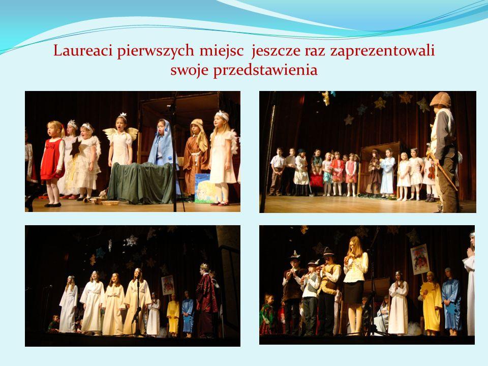 Laureaci pierwszych miejsc jeszcze raz zaprezentowali swoje przedstawienia