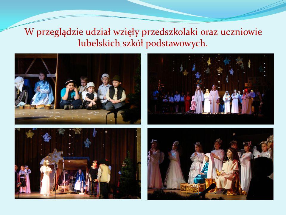 W przeglądzie udział wzięły przedszkolaki oraz uczniowie lubelskich szkół podstawowych.