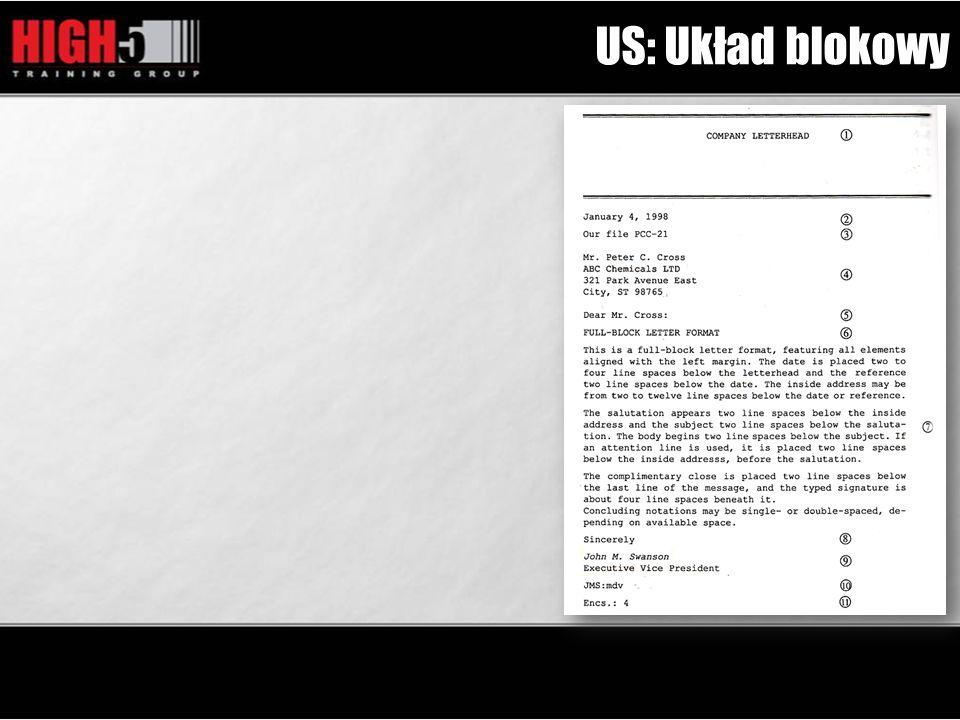 US: Układ blokowy