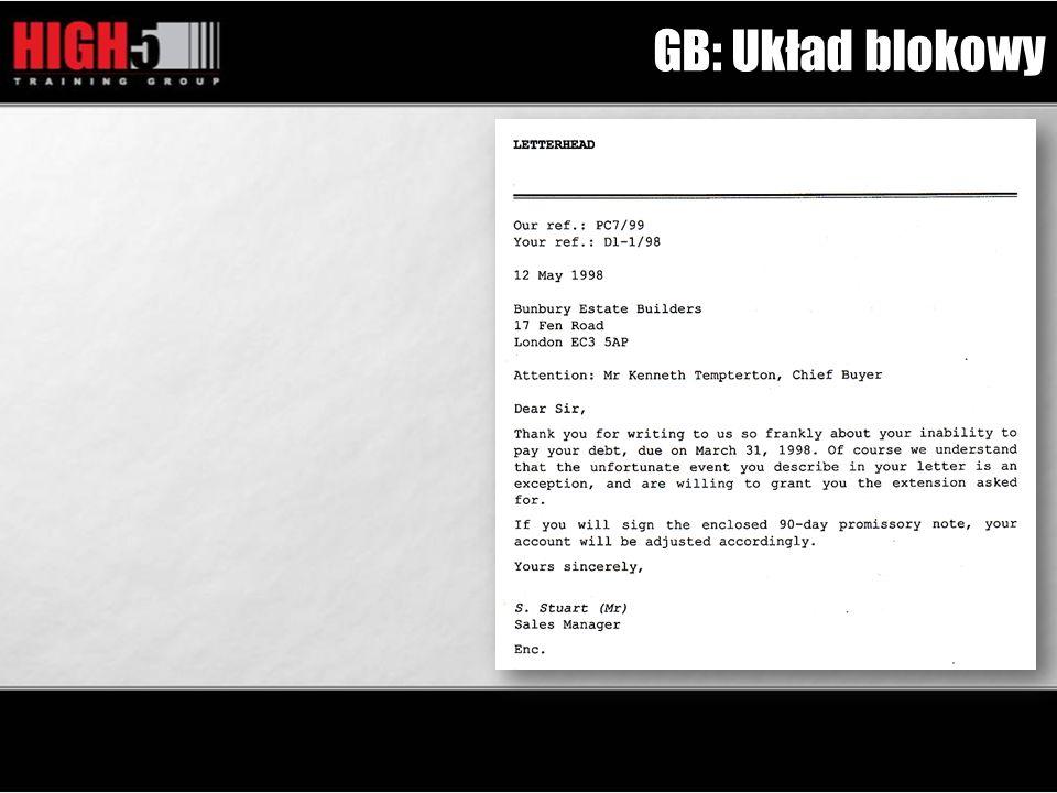 GB: Układ blokowy