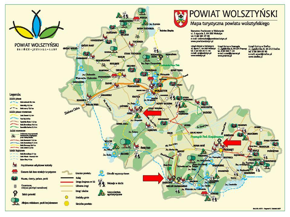 www.tws.org.p l ZAPRASZAMY NA SZLAK CYSTERSKI W POWIECIE WOLSZTYŃSKIM.