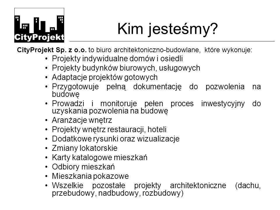 Kim jesteśmy. CityProjekt Sp. z o.o.
