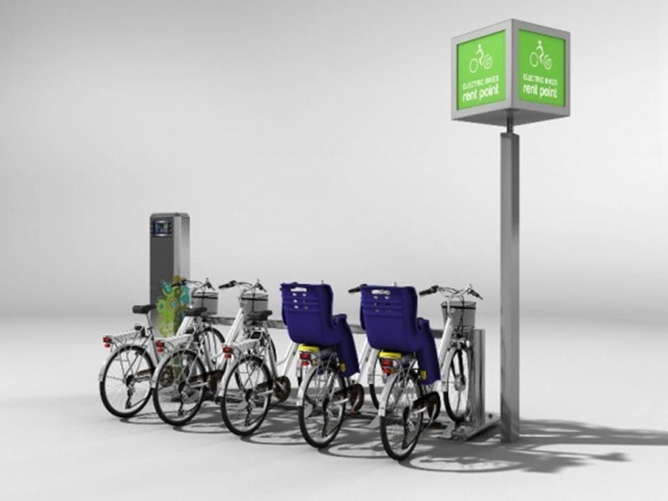 WIZJA W mieście znajduje się pewna ilość stacji rowerowych (będących tak na prawdę automatycznymi parkingami rowerowymi), w których możemy pobrać i oddać rower.