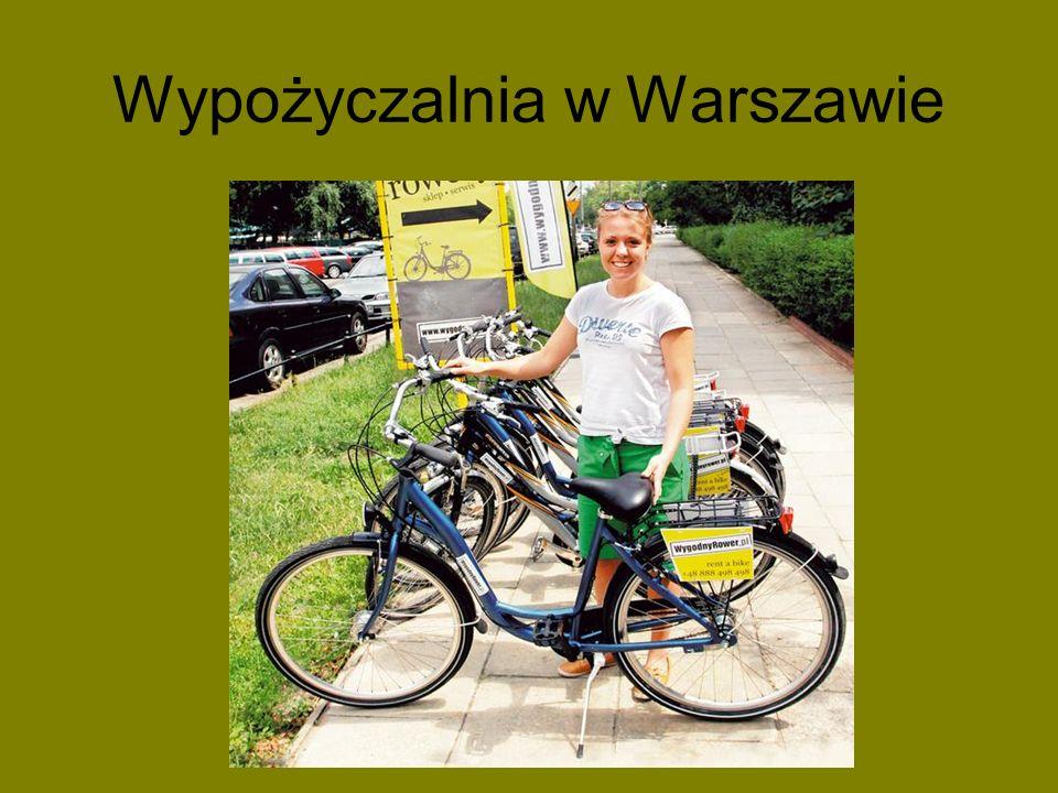 Wypożyczalnia w Warszawie