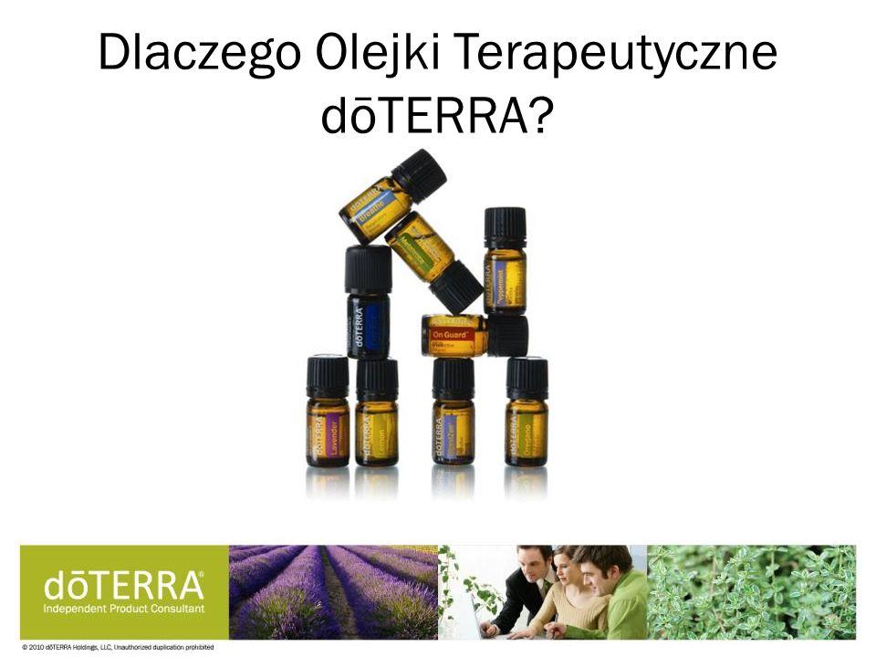 Dlaczego Olejki Terapeutyczne dōTERRA?