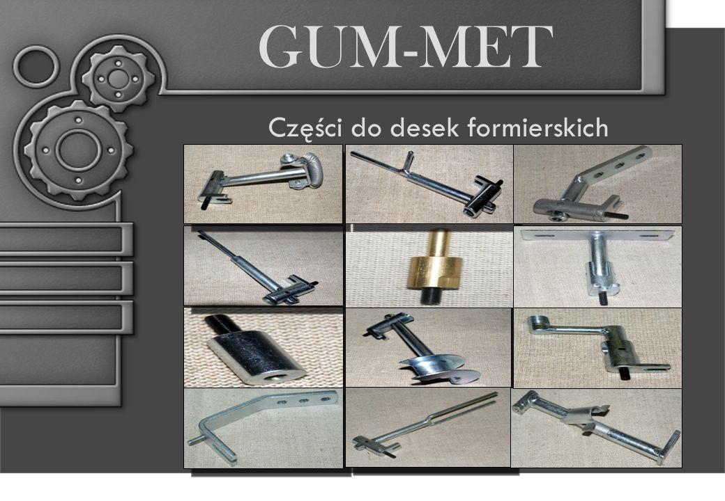 GUM-MET Części do desek formierskich