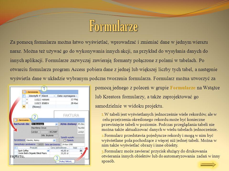 Istniejący formularz można przekształcić w formularz dzielony, ustawiając kilka właściwości formularza.