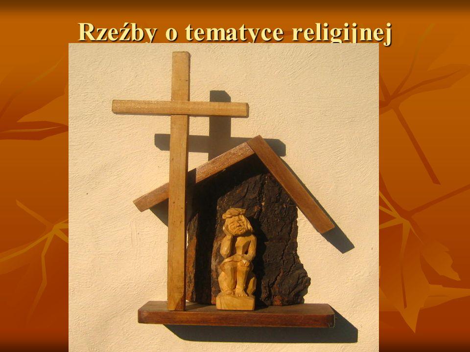 Rzeźby o tematyce religijnej