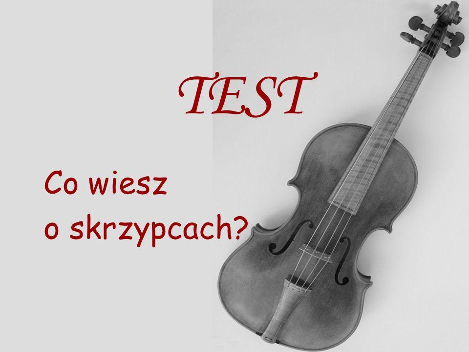 Przykładowe utwory na skrzypce L. Boccherini - Menuet As-Dur J. Massenet - Medytacja E. Lalo – Symphonie espagnole d-moll op.21 cz. IE. Lalo – Symphon