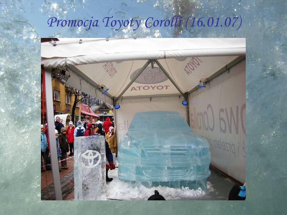 Promocja Toyoty Corolli (16.01.07)