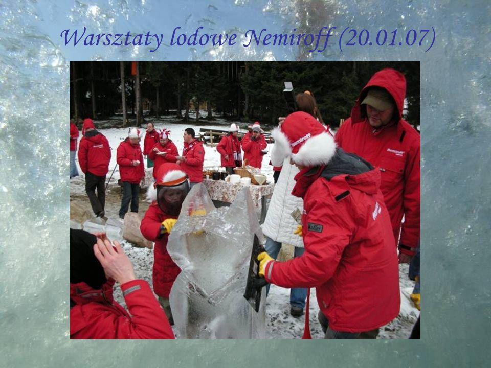 Warsztaty lodowe Nemiroff (20.01.07)