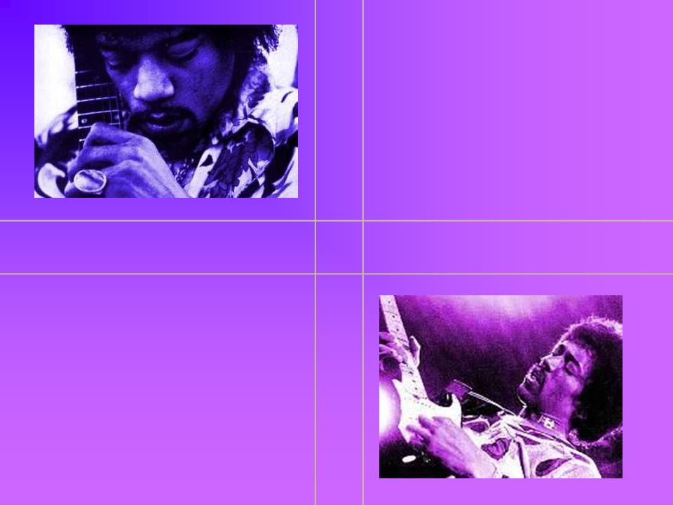Jimi Hendrix James Marshall Hendrix czyli Jimi Hendrix - legendarny amerykański gitarzysta, wokalista, kompozytor rockowy najczęściej wiązany z acid- rockiem i rockiem psychodelicznym, blues- i jazz-rockiem.
