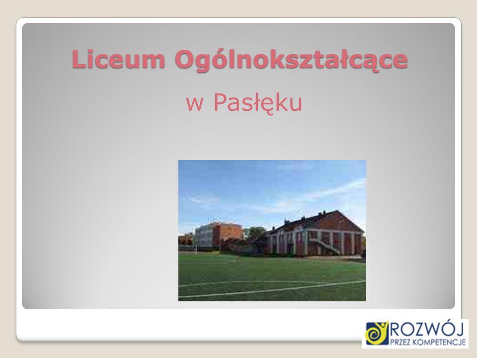 Liceum Ogólnokształcące w Pasłęku