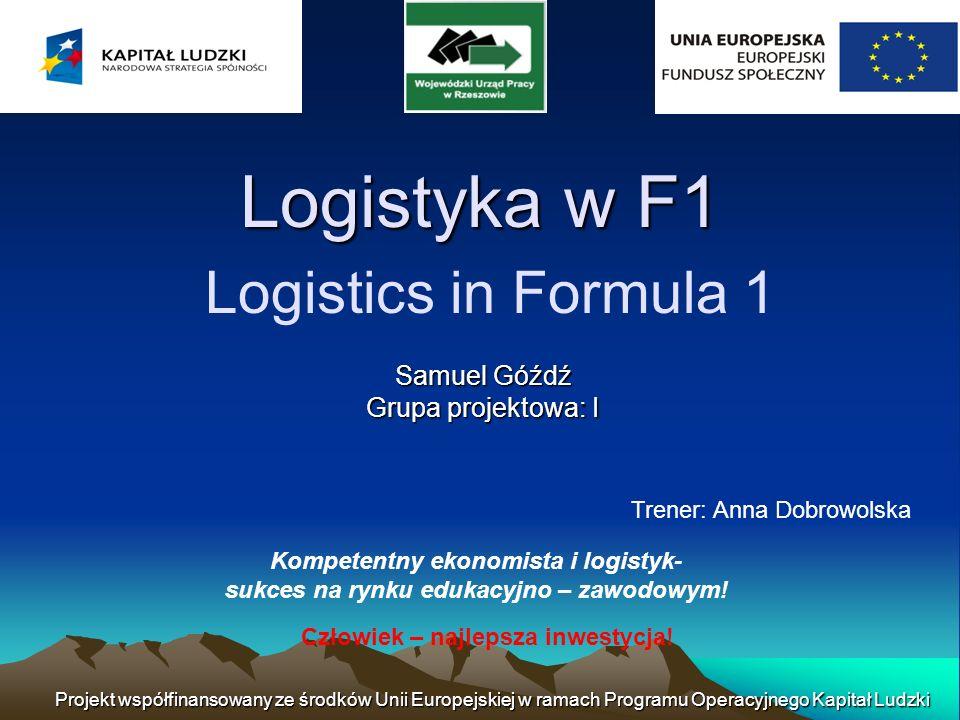 Jak ważna jest logistyka w F1.